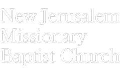 New Jerusalem Missionary Baptist Church Logo